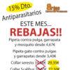 15% dto. en collares y pipetas